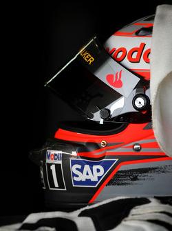 The, kask, Heikki Kovalainen, McLaren Mercedes