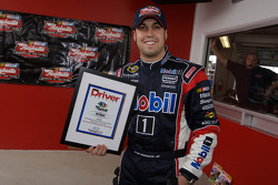 Raybestos Rookie of the Year radio-controlled car race event: race winner Sam Hornish Jr.