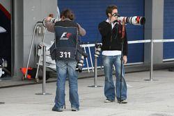 Fotoğrafçılar,pitlane