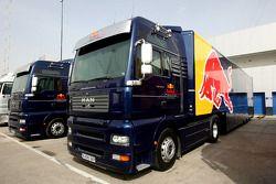 Red Bull Racing, tırıs