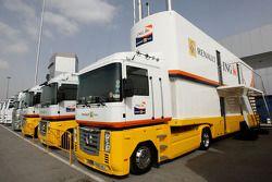 Renault F1 Team, tırıs