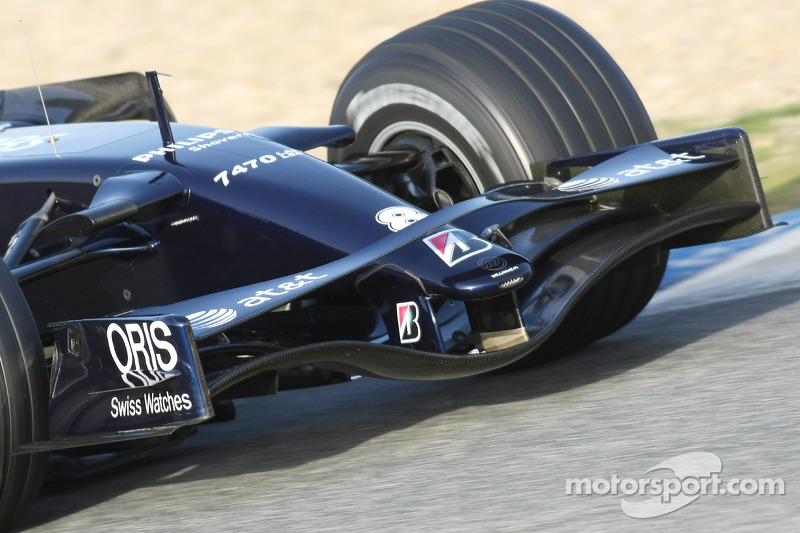 Williams F1 Team, FW30, ön kanat