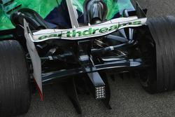 Honda Racing F1 Team, RA108, Rear Wing