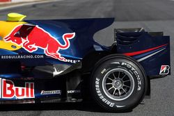 Detail of the Red Bull Racing RB4