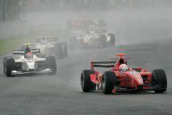 Milos Pavlovic leads Vitaly Petrov
