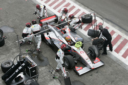 Pitstop for Adrian Valles