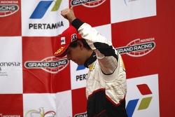 Podium: third place Adrian Valles