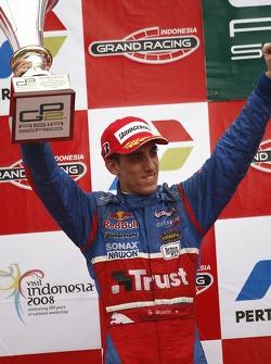 Podium: second place Sébastien Buemi