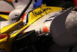 Renault R28 body work details