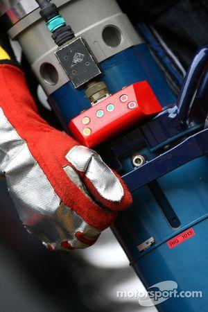 Red Bull Racing refueller