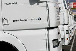Camions BMW Sauber F1 Team