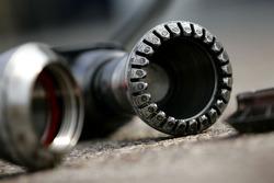 BMW Sauber F1 Team, Pit stop gun