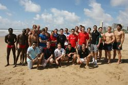 Lifeguards, A1GP Drivers and the Natal Sharks