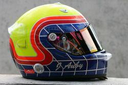 Helmet of Jimmy Auby, driver of A1 Team Lebanon