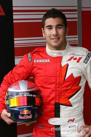 Daniel Morad, driver of A1 Team Canada