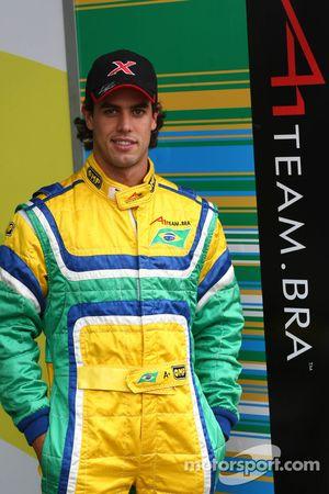 Alexandre Negrao, driver of A1 Team Brazil