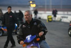 Team owner Ken Black on return road