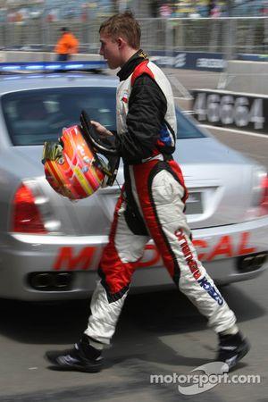 Josef Kral, driver of A1 Team Czech Republic