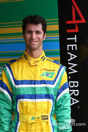 Bruno Junqueira, driver of A1 Team Brazil
