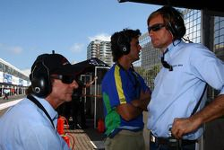 Emerson Fittipaldi, Seat Holder of A1 Team Brazil with Alexandre Negrao, driver of A1 Team Brazil an