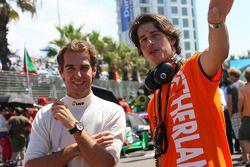 Jeroen Bleekemolen, driver of A1 Team Netherlands and Arie Luyendyk Jr., driver of A1 Team Netherlan