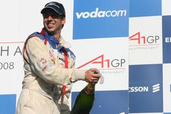 Neel Jani, driver of A1 Team Switzerland, winner of the feature race