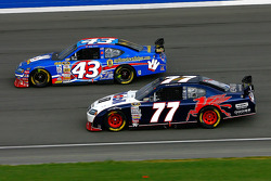 Sam Hornish Jr. and Bobby Labonte