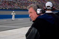 Jimmy Fenning, crew chief of David Ragan, waits to begin the Auto Club 500