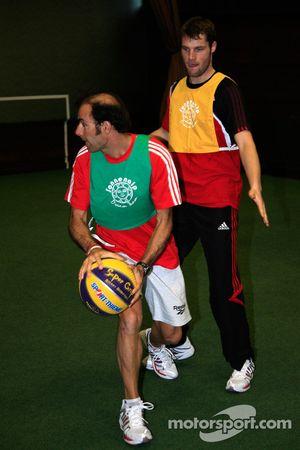 Emanuele Pirro and Martin Tomczyk