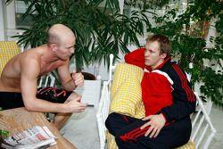 Alexandre Premat and Mattias Ekström