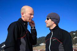 Alexandre Premat and Mike Rockenfeller