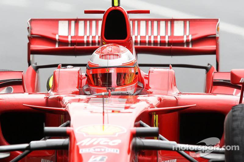 2008: Test driver
