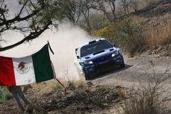Petter Solberg y Phil Mills, Subaru World Rally Team, Subaru Impreza WRC 2006