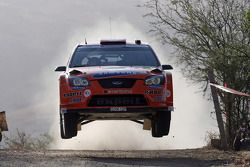 Hening Solberg y Cato Menkerud, Stobart VK M-Sport Ford World Rally Team, Ford Focus RS WRC 2007