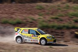Toni Gardemeister y Tomi Tuominen, Suzuki World Rally Team, Suzuki SX4