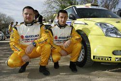 Michal Kosciuszko y Maciek Szczepaniak, Suzuki Swift S1600