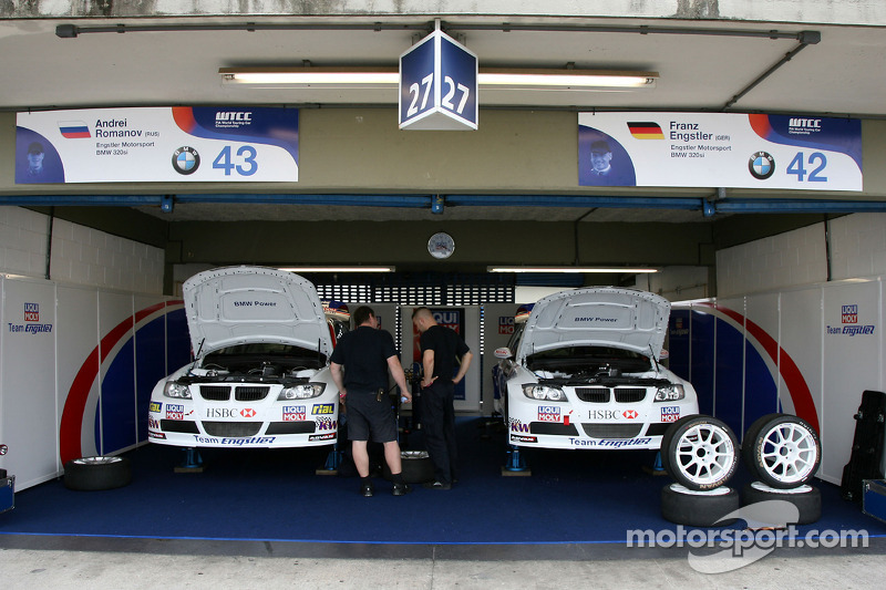 Andrey Romanov, Engstler Motorsport, BMW 320si, Franz Engstler, Engstler Motorsport, BMW 320si