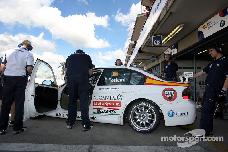 Felix Porteiro, BMW Team Italy-Spain, BMW 320si