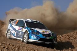 Франсуа Дюваль и Эдди Шевалье, Stobart VK M-Sport Ford World Rally Team, Ford Focus RS WRC