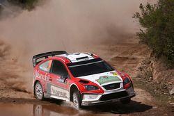 Federico Villagra y Jorge Perez Companc, Ford Focus RS WRC