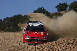 Conrad Rautenbach y David Senior, Citroen C4 WRC