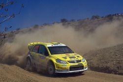Toni Gardemeister y Tomi Tuominen, Suzuki World Rally Team, Suzuki SX4