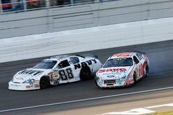 Carl Edwards and Brad Keselowski wreck