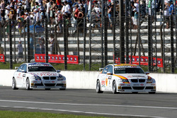 Felix Porteiro, BMW Team Italy-Spain, BMW 320si, Andy Priaulx, BMW Team UK, BMW 320si WTCC