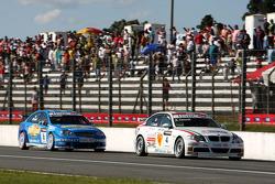 Alex Zanardi, BMW Team Italy-Spain, BMW 320si, Nicola Larini, Chevrolet, Chevrole Lacetti