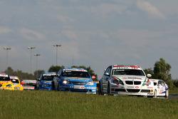 Alex Zanardi, BMW Team Italy-Spain, BMW 320si, Alain Menu, Chevrolet, Chevrole Lacetti