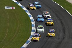 Start, Yvan Muller, SEAT Sport, SEAT Leon TDI