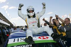 Gabriele Tarquini, SEAT Sport, SEAT Leon TDI, wins race 2
