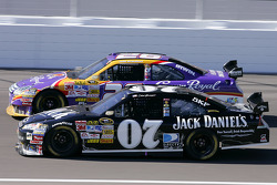 Clint Bowyer and Jamie McMurray