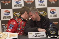 Press conference: race winner Carl Edwards with crew chief Bob Osborne